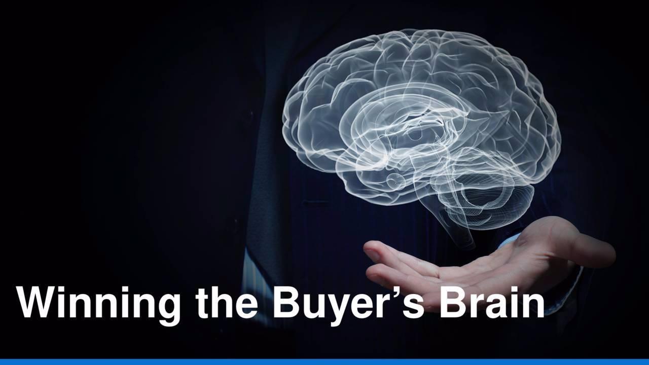 Winning The Buyer's Brain